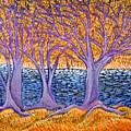 Three Trees by Rollin Kocsis