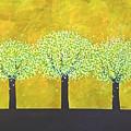 Three Trees by Wonju Hulse
