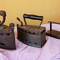 Three Vintage Irons by Susanna Mattioda