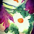 Three White Flowers by Britta Zehm