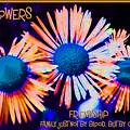 Three Wild Flowers Friendship by Judy Fry