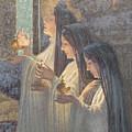 Three Wise Virgins by Carlos Schwabe