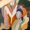 Three Women by Carole Johnson