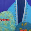 Three Women In Burkhas by Debra Bretton Robinson