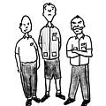 Three Workers by Richard Bennett