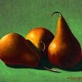 Three Yellow Pears by Frank Wilson