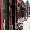 Thrift Shop And Sign In Manitou Springs by Steve Krull