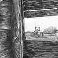 Through The Barn by Dean Herbert
