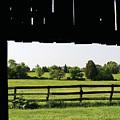 Through The Barn by Richard Larson