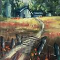 Through The Closed Gate by Angela Sullivan