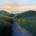 Through The Dunes by Bruce Dumas