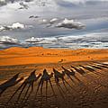 Through The Dunes Of Merzouga (morocco). by Joxe Inazio Kuesta Garmendia
