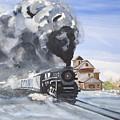 Through The Snow by Carole Robins
