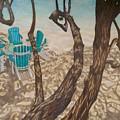 Through The Trees, St John by Karleigh Clark