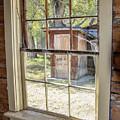 Through The Windows Of Bannack 6 by Teresa Wilson