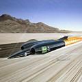 Thrust S S C - Mach 1 by Arthur Benjamins