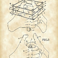 Thumb Wrestling Game Patent 1991 - Vintage by Stephen Younts