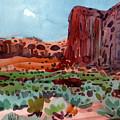 Thunderbird Butte by Donald Maier