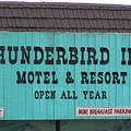 Thunderbird Inn -  Iconic Sign In Wildwood by Anna Maria Virzi