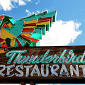 Thunderbird Restaurant Vintage Neon Sign by Gigi Ebert