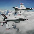 Thunderbirds Of The Future by Erik Simonsen