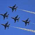 Thunderbirds Upwards by Raymond Salani III