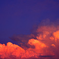 Thunderhead At Sunset by Thomas R Fletcher
