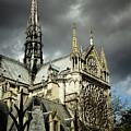 Thunderous Notre Dame by Marina McLain