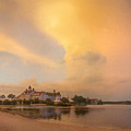 Thunderstorm Over Disney Grand Floridian Resort by Bill McEntee