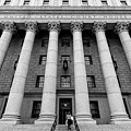 Thurgood Marshall United States Courthouse, Lower Manhattan New  by Edi Chen
