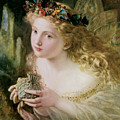 Thus Your Fairy's Made Of Most Beautiful Things by Sophie Anderson