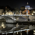 Tiber's Reflection Of Religion by Scott Hippensteel