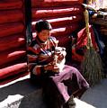 Tibetan Boy by Tianxin Zheng