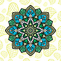 Tibetan Mandala Seamless Pattern by Long Shot