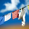 Tibetan Prayer Flags by Yew Kwang