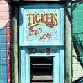 Ticket Window For Show Tickets by Colin Cuthbert