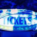 Tickets In Blue by Mel Steinhauer