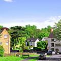 Ticknall Village From Ingleby Lane by Rod Johnson