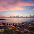 Tidal Pools At Sunrise by Debra and Dave Vanderlaan