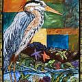 Tidepool Heron by Melissa Cole