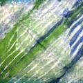 Tie Dye Art. Rainforest In Spring by Ausra Huntington nee Paulauskaite