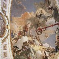Tiepolo Palacio Real The Apotheosis Of The Spanish Monarchy Giovanni Battista Tiepolo by Eloisa Mannion