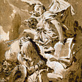 Tiepolo: Saint Jerome by Granger