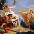 Tiepolo's Apollo Pursuing Daphne by Cora Wandel