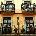 Tiered Balconies by Mexicolors Art Photography