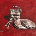 Tiffin Carrier - Still Life by Usha Shantharam