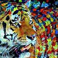 Tiger Big Colors by Yury Malkov