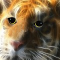 Tiger Cub by Madeline  Allen - SmudgeArt