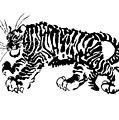 Tiger by Marina Kapilova