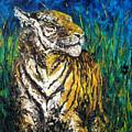 Tiger Night Hunt by Shirley Heyn